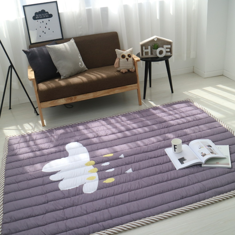 Infant Shining Baby Play Mat Children Carpet 140X200X3CM Thickness Machine Washable Rug For Living Room Anti-skid 55X78 Inch fashion thicken soft coffee color carpet floor living room area rug mat bedroom home carpets doormat washable size 80 160 3 cm page 2