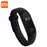 100 Original Xiaomi Mi Band 2 Smart Wristband LED Screen Heart Rate Pulse Monitor Pedometer Grade