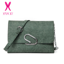 YANXI Luxury Women s bag Shoulder Fashion High Quality Ladies Crossbody Flap Bag Designer Women Messenger