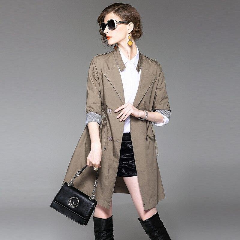 Autumn Baseball Grey Casual Women Bomber Jacket Harajuku Straight In The Long Slim Windbreaker Jacket Coat
