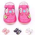 Nueva Llegada 1 par Deporte Zapatillas de Deporte Del Bebé, Chica Transpirable Zapatos de cuero, calidad Estupenda Kid/niños Zapatos suaves