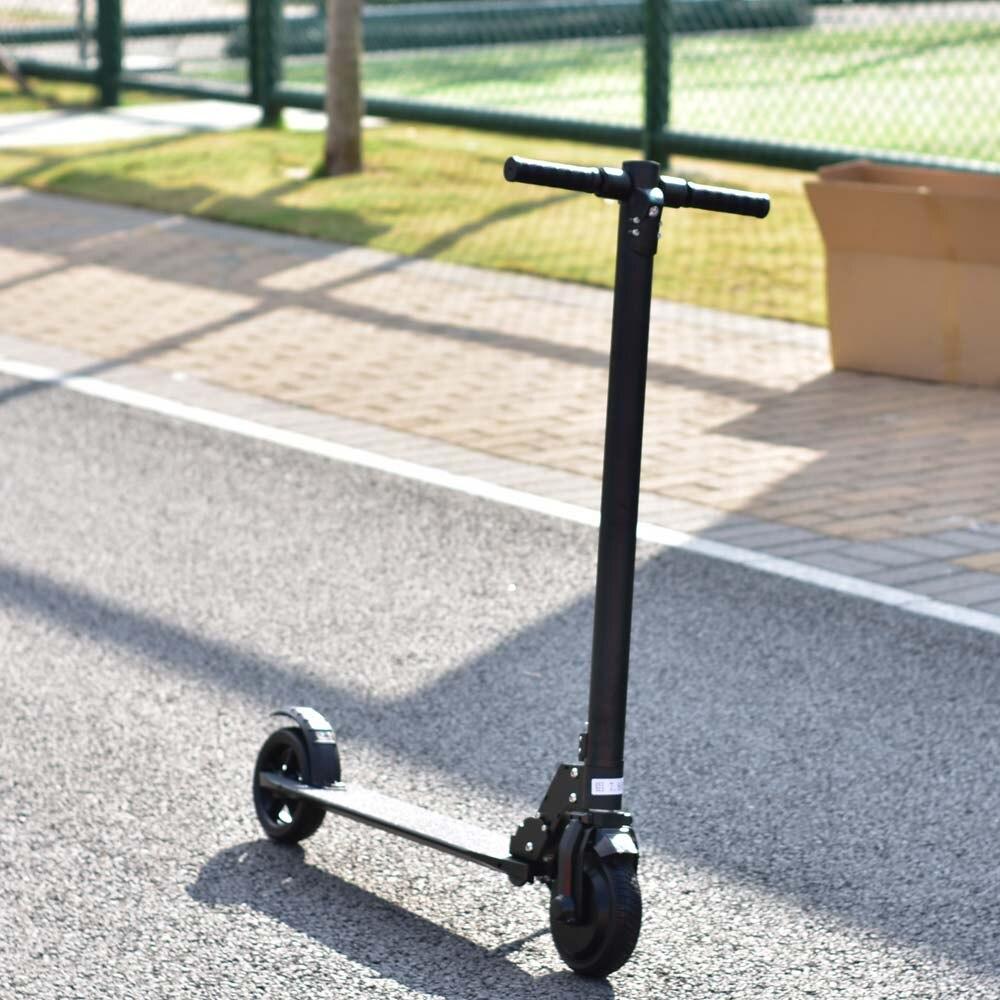 Scooter de voyage portable, planche à roulettes à 2 roues