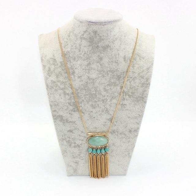 Chicvie винтажные многослойные цепи длинное ожерелье с кисточками