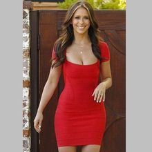 2017 sexy sommer dress frauen bodycon red besondere anlässe cocktail party kleider kurzarm bandage dress bodysuit vestido