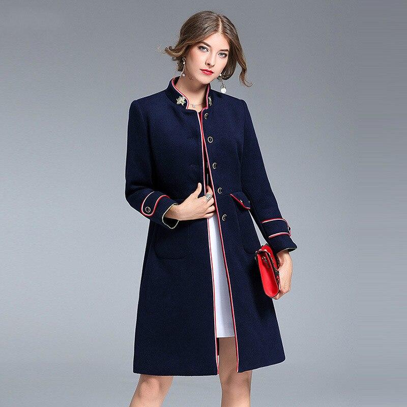Для женщины пальто осень зима