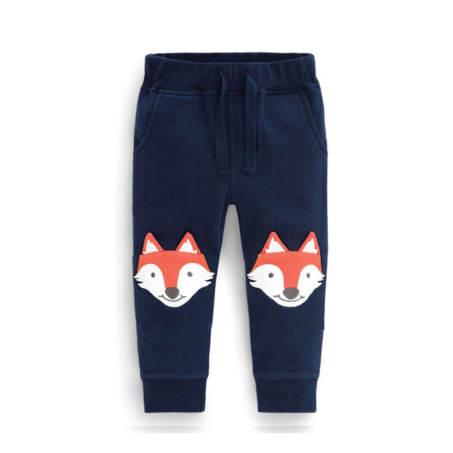 d35b18f8 Spring Autumn Boy Jogger Pants Cartoon Girls Harem Trousers Children's  Jersey Sweatpants Knitted Kids Clothing For Jogging