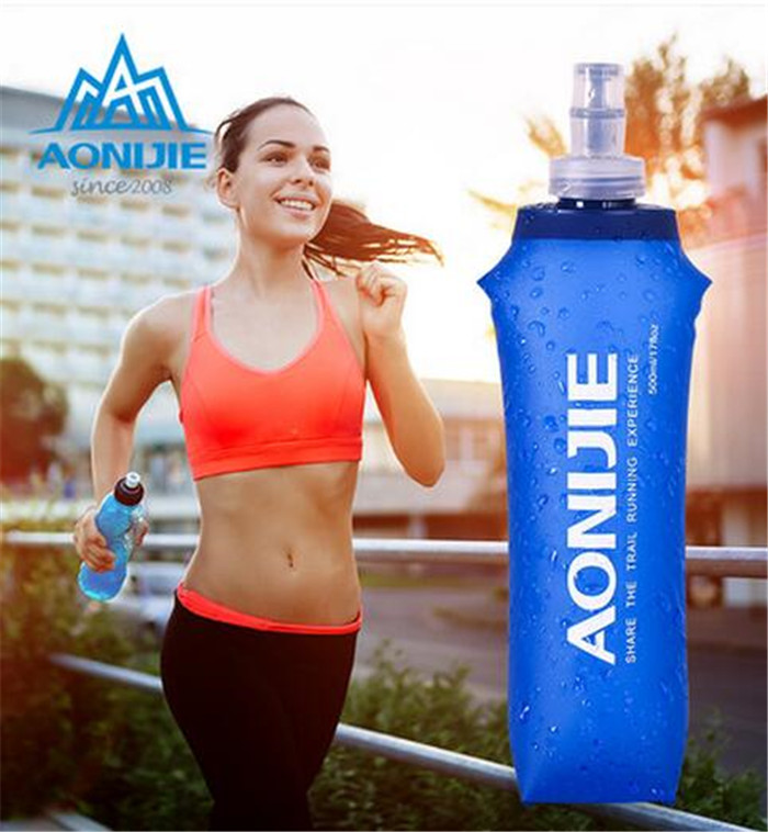 ALI shop ...  ... 32801220393 ... 2 ... AONIJIE Portable TPU Folding Soft Long Straw Sport Bottle Outdoor Sport Hiking Camping Running Gym Cup Kettle 250ml/500ml ...