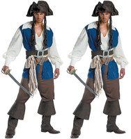European Uniform Pirate Serve Pirate Captain Clothing Halloween Male Game