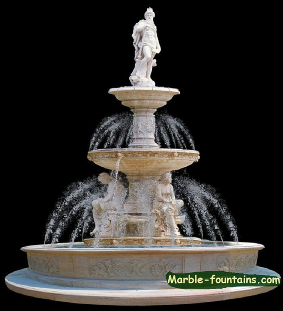 Marble Fountains For Sale Uk Vintage Stone Fountains For Sale 12.4ft Height  Large Stone Fountains