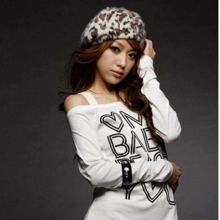 5af94cfde623 2019 New beanies Rabbit fur women Beret hat leopard print headgear Fashion  female caps knitted accessories