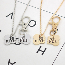 Dog Bones Best Friends Necklace