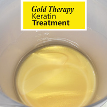 Gold therapy keratin treatment 2016 new advanced formula best hair care 30 minutes repair damaged hair make moisturizes 11.11