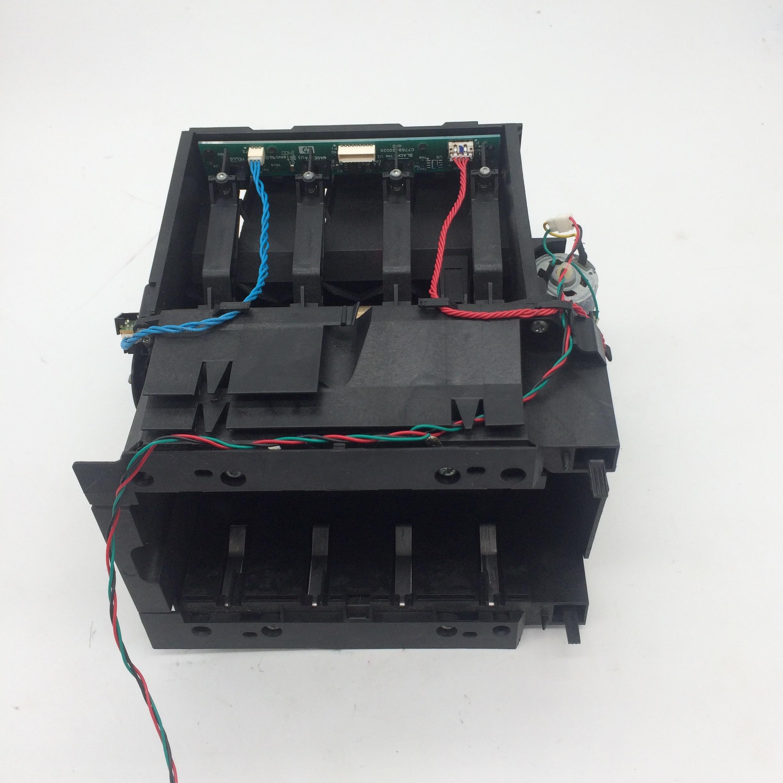 C7769 C7779 Ink Cartridge Holder Service Station For HP DesignJet 800 800ps 800plus printer A0 A1 24 42C7769 C7779 Ink Cartridge Holder Service Station For HP DesignJet 800 800ps 800plus printer A0 A1 24 42
