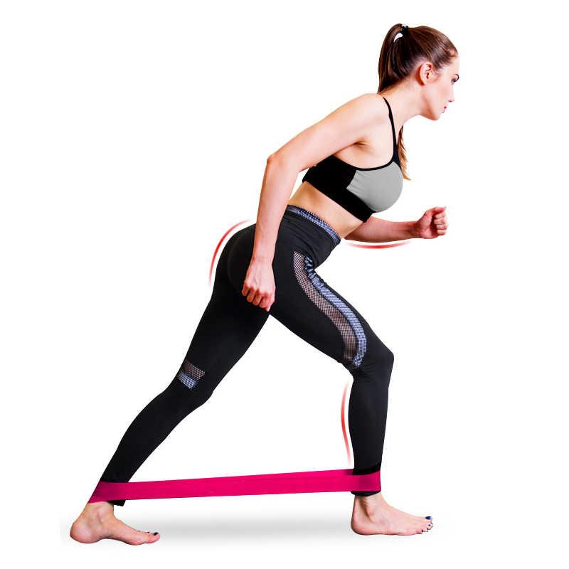 5 sztuk/zestaw opaski elastyczne dla Fitness Gum taśmy oporowe joga trening Sport opaski elastyczne gumowe szkolenia sprzęt do ćwiczeń