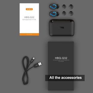 Image 5 - ALWUP Bluetooth 5.0 TWS Tai Nghe Không Dây Blutooth Tai Nghe Thật không dây Âm Thanh Stereo Tai Nghe Nhét Tai Thể Thao HBQ Q32