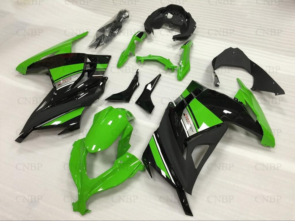 Fairings Zx300r 14 15 Fairings ZX EX 300 EX300 Ninja 2013 2013 - 2015 Green Black Fairings EX 300 Ninja 13 14 totem 15 2016 green black