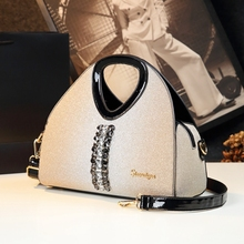 ICEV new designer high quality women leather handbag diamond luxury evening clutch patent leather la