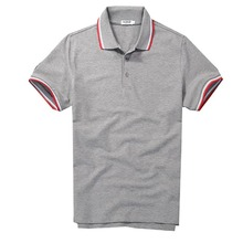 Brand Mens Polo Shirt Men  Pique Slim Polos Button Placket Short Sleeve Homme De Marque Solid