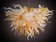 Free Shipping New Arrival Truly Handmade Art Deco Chandelier Lighting Flower Style