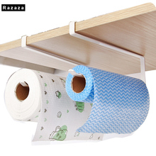 ФОТО Practical Kitchen toilet paper towel holder rack coat hanger hooks Cabinet hanging shelf organizer bathroom kitchen accessories