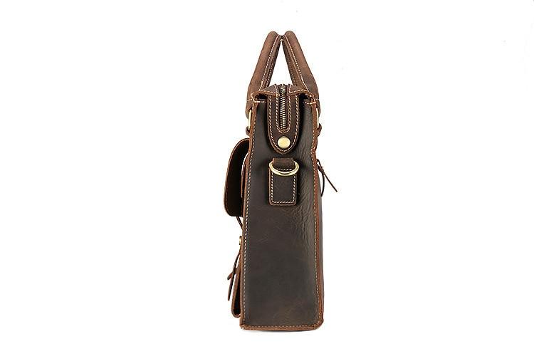 genuine leather briefcase (4)