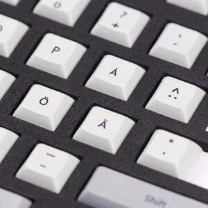 Image 4 - Kbdfan جديد وصول صبغ subbed dsa pbt كيكابس الشمال تخطيط iso dsa الشخصي ل usb لوحة مفاتيح الألعاب الميكانيكية