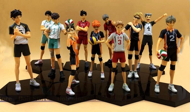 2019 New Arrival 14-17cm Original High Quality Japanese Anime Figure Haikyuu Action Figure Kids Toys For Girls
