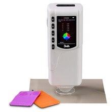 NR60CP портативный цветной измеритель imeter цена 4 мм 8 мм Цифровой измеритель разницы цвета тестер с интерфейсом USB/RS-232 20000 для хранения образцов