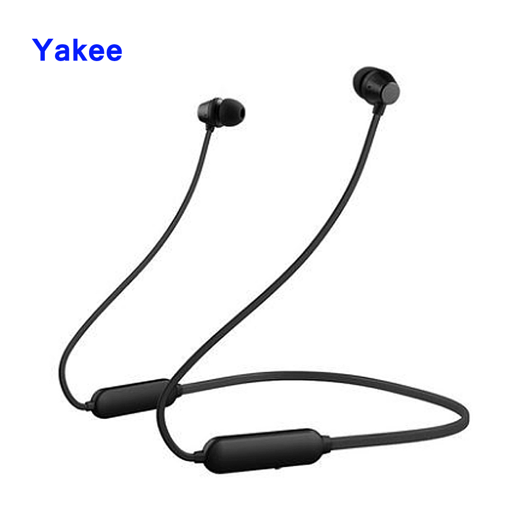 Yakee Wireless bluetooth headphones IPX5 waterproof wireless sport earphone with Mic Remote Control for IOS xiaomi android hoco sport bluetooth earphone ipx5 waterproof wireless headphones with microphone stereo surround bass for ios android headset