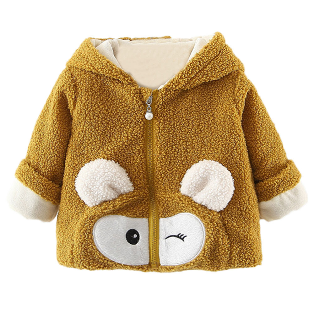Warm Coat Hoodie Jacket Manteau Toddler Baby-Boys-Girls Winter Cartoon 15 Casaco Menina
