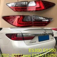 car bumper taillamp for Lexus taillight ES240 ES250 ES300 ES350 2012~2017y car accessories tail light for Lexus rear light