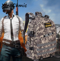 Game PUBG PLAYERUNKNOWNS BATTLEGROUNDS Backpack Specia Force Knapsack Free Nagic Stickers Cosplay prop Outdoor Sports Bag