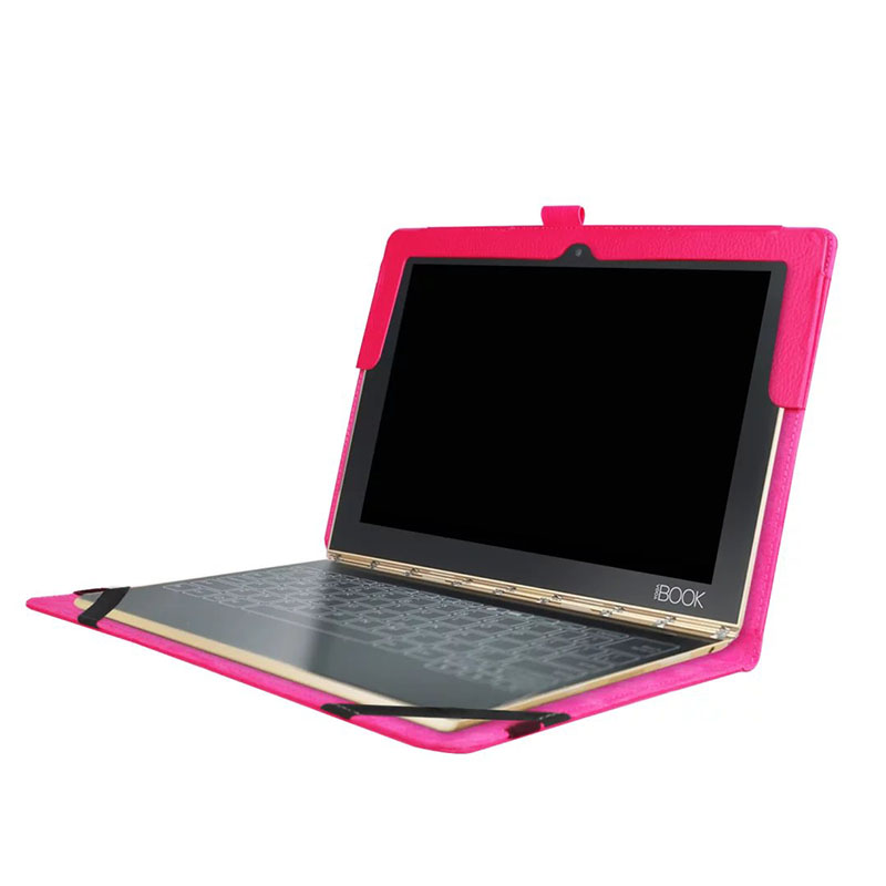 NEW Luxury Stand Function Litchi Grain PU Protective Leather Cases Cover For Lenovo Yoga Book 2016 10.1 Tablet PC With Gift