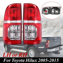 Красный влево/вправо заднего сбоку Хвост Стоп свет лампы для Toyota Hilux 2005 2006 2007 2008 2009 2010 2011 2012 2013 2014 2015 LH/RH