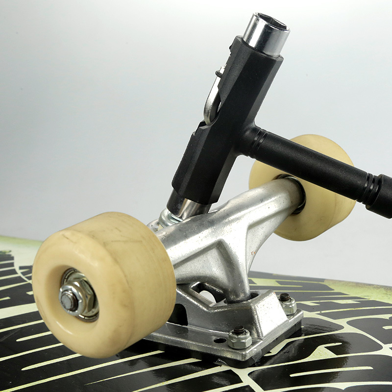 Skateboard Tools All In One Screwdriver Socket Mini  T Type Wrench Disassembly Tools Accessories Use For Roller Skate Scooter