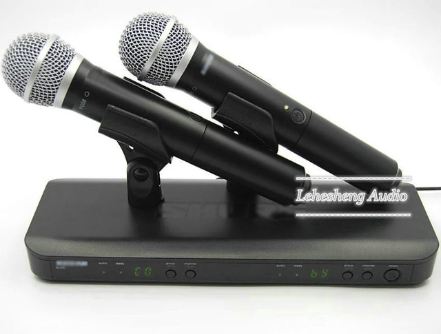 BLX288 / PG 58A UHF Wireless Dual Microphone System With 2 UT4 Type Handheld Microphone