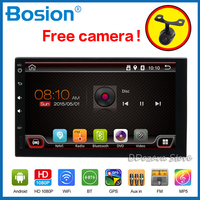 Autoradio 2 din car video for universal Multimedia Player Radio Tuner GPS Navigation Mirror Link USB SD Touch Screen Bluetooth