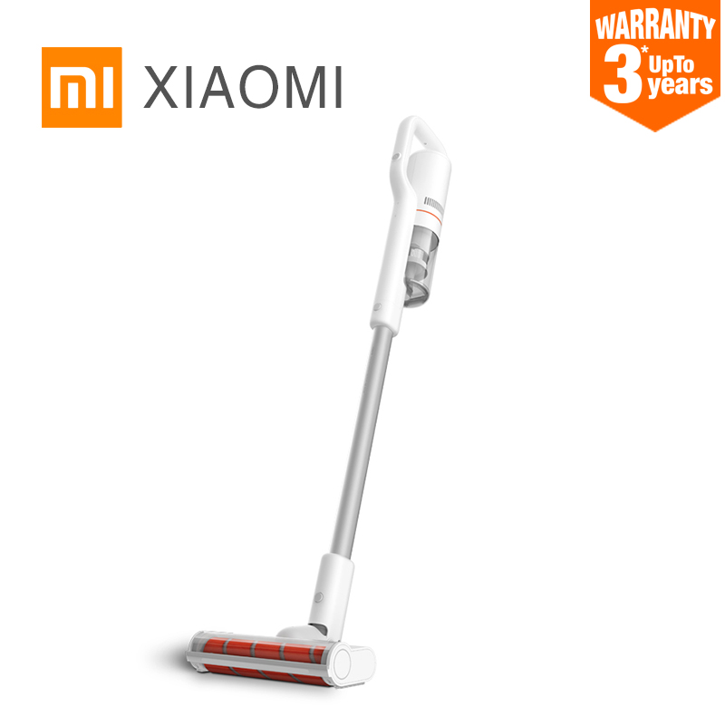 New XIAOMI ROIDMI F8 Handheld Vacuum Cleaner for Home Low Noise Dust Collector household cyclone LED Multifunctional Brush WIFI rak dinding minimalis diy