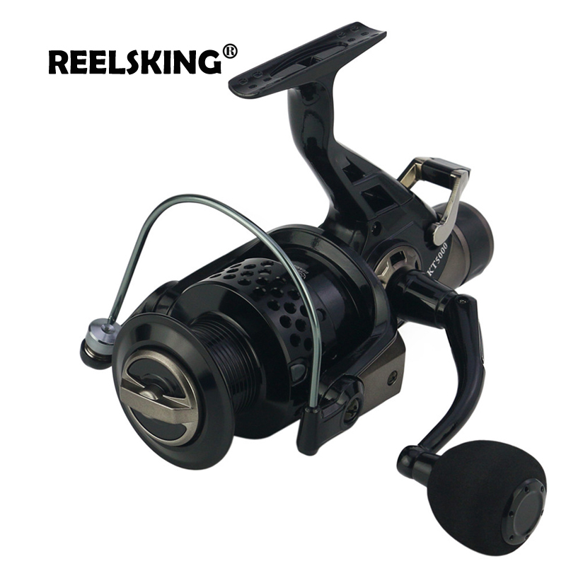 REELSKING new 13 1 BB Front and Rear Drag reels 3000 8000 series Carp nemesis fishing