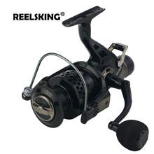 REELSKING new 13+1 BB Front and Rear Drag reels 3000-8000 series Carp nemesis fishing