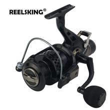 REELSKING Новые 13 + 1 BB передние и задние откатная лебёдка 3000-8000 серия Карп nemesis рыболовные катушки