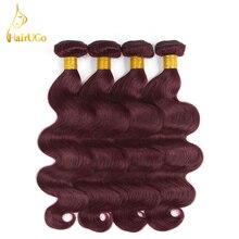 HairUGo font b Hair b font Pre colored Brazilian font b Hair b font Weave 4