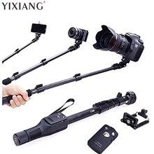 Yixiang для GoPro DSLR Камера IOS Android телефон Selfie stick 1288 Bluetooth Выдвижная Ручной yt-1288 штатив монопод