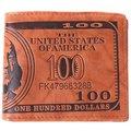 PU Leather Brand Mens Dollar Wallet Letter Printed Short Bifold Design Male Purse Wallet Card Holder OR870627