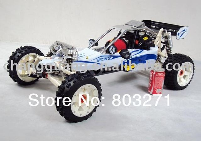 upgraded 30.5cc baja ss remote gas powered rc car -free shipping