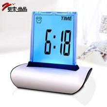 2016 Hot LED Colorful Backlight Digital Alarm Clock Multifunctional Despertador Electronic Desk Clock Desktop Table Clock Reveil