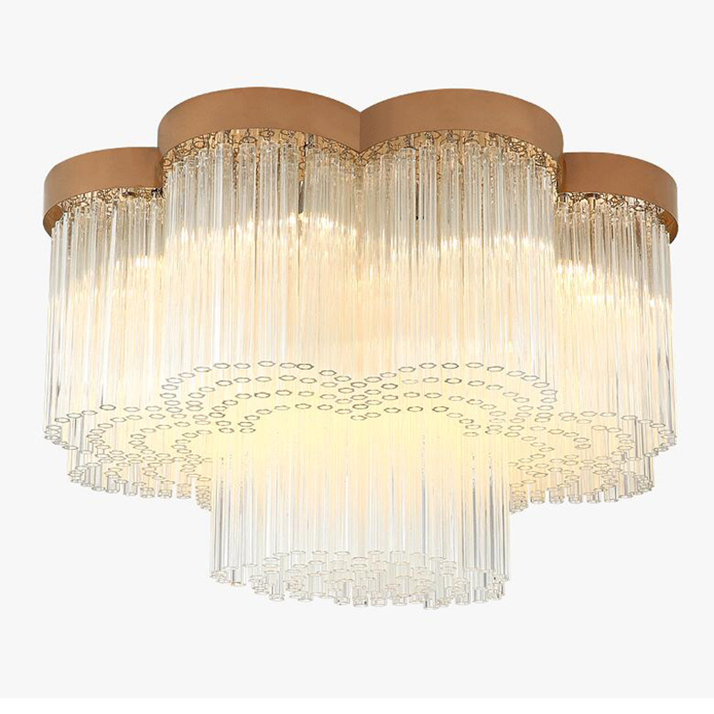 new design modern 2 layers chandelier LED lamp AC110V 220V luxury living room dinning room light fixtures