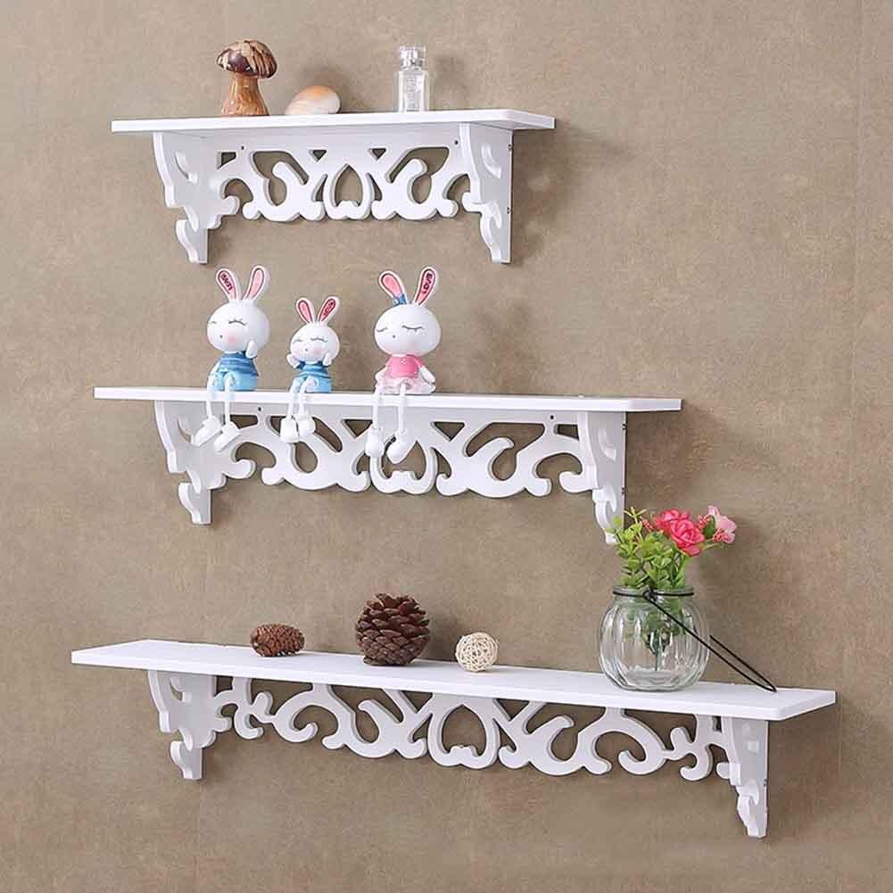 Storage Rack Shelf Holder Wall Hanging Creative Decoration Organizer For Home Bedroom Hot Sale