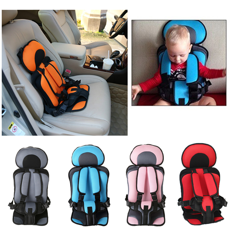 Portable Baby Safe Seat Cushion Adjustable Kids Infant Chair Baby Car Seat Thickening Sponge Kids Stroller Seat Pad 0-5 Year