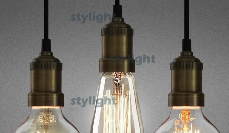 loft bronze lamp head pendant lamp simple pendant light Northern Europe industry filament bulb suspension light dinning roomloft bronze lamp head pendant lamp simple pendant light Northern Europe industry filament bulb suspension light dinning room